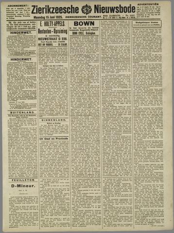 Zierikzeesche Nieuwsbode 1925-06-15