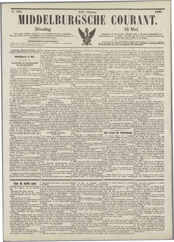 Middelburgsche Courant 1901-05-14