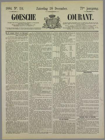 Goessche Courant 1884-12-20