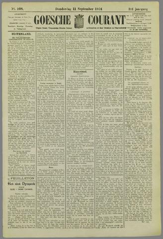 Goessche Courant 1924-09-11