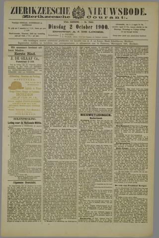 Zierikzeesche Nieuwsbode 1900-10-02