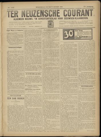 Ter Neuzensche Courant. Algemeen Nieuws- en Advertentieblad voor Zeeuwsch-Vlaanderen / Neuzensche Courant ... (idem) / (Algemeen) nieuws en advertentieblad voor Zeeuwsch-Vlaanderen 1931-09-23