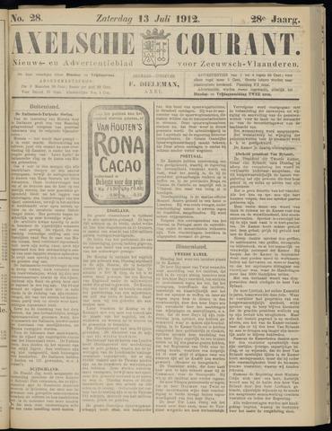 Axelsche Courant 1912-07-13