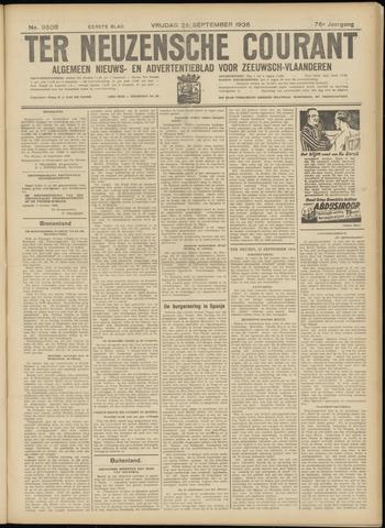 Ter Neuzensche Courant. Algemeen Nieuws- en Advertentieblad voor Zeeuwsch-Vlaanderen / Neuzensche Courant ... (idem) / (Algemeen) nieuws en advertentieblad voor Zeeuwsch-Vlaanderen 1936-09-25