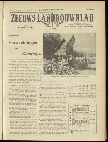 Zeeuwsch landbouwblad ... ZLM land- en tuinbouwblad 1960-09-17