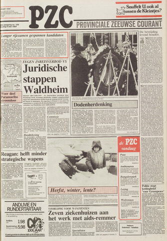 Provinciale Zeeuwse Courant 1987-05-05