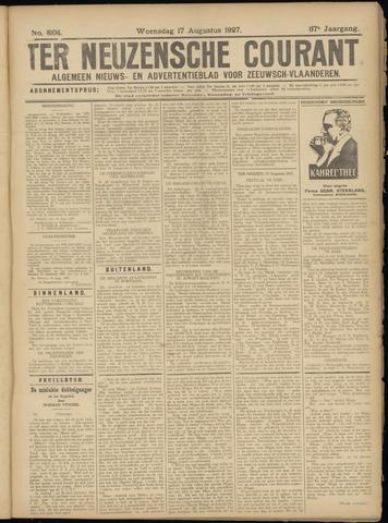 Ter Neuzensche Courant. Algemeen Nieuws- en Advertentieblad voor Zeeuwsch-Vlaanderen / Neuzensche Courant ... (idem) / (Algemeen) nieuws en advertentieblad voor Zeeuwsch-Vlaanderen 1927-08-17