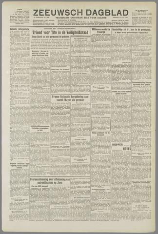 Zeeuwsch Dagblad 1949-10-21