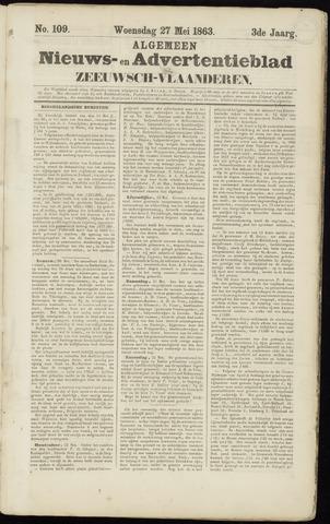 Ter Neuzensche Courant. Algemeen Nieuws- en Advertentieblad voor Zeeuwsch-Vlaanderen / Neuzensche Courant ... (idem) / (Algemeen) nieuws en advertentieblad voor Zeeuwsch-Vlaanderen 1863-05-27