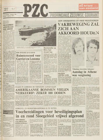Provinciale Zeeuwse Courant 1973-08-07