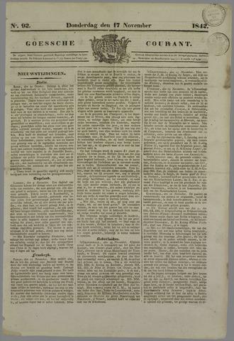 Goessche Courant 1842-11-17