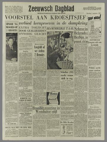 Zeeuwsch Dagblad 1961-09-04