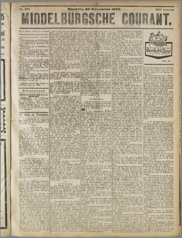 Middelburgsche Courant 1922-11-20