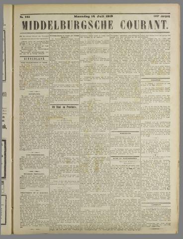 Middelburgsche Courant 1919-07-14