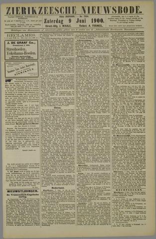 Zierikzeesche Nieuwsbode 1900-06-09