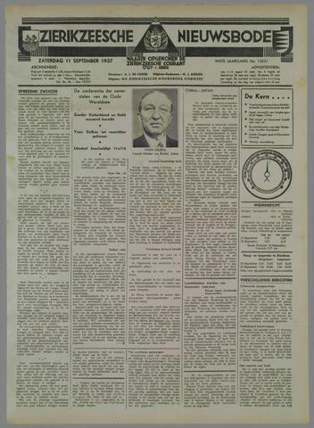 Zierikzeesche Nieuwsbode 1937-09-11