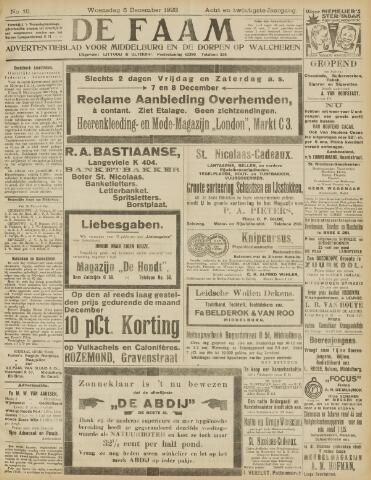 de Faam en de Faam/de Vlissinger 1923-12-05