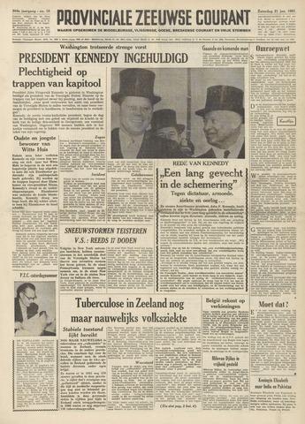 Provinciale Zeeuwse Courant 1961-01-21