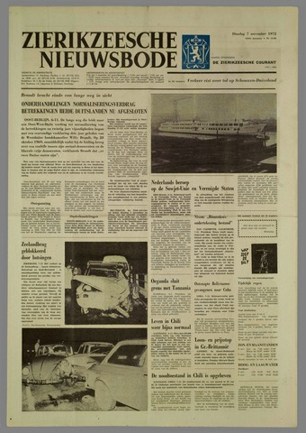 Zierikzeesche Nieuwsbode 1972-11-07