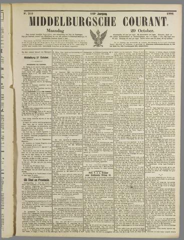 Middelburgsche Courant 1906-10-29
