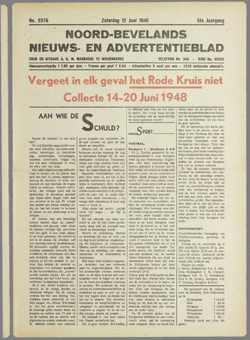 Noord-Bevelands Nieuws- en advertentieblad 1948-06-12