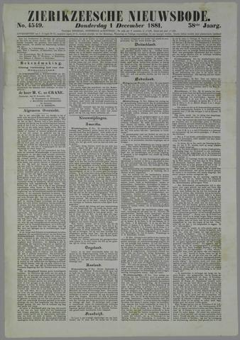Zierikzeesche Nieuwsbode 1881-12-01
