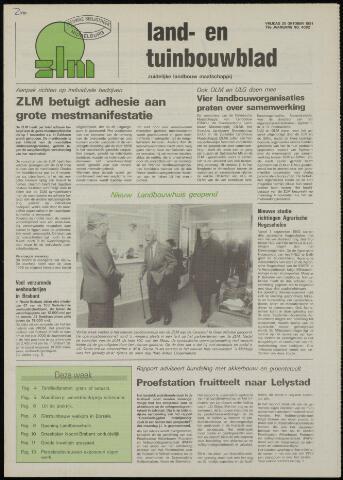 Zeeuwsch landbouwblad ... ZLM land- en tuinbouwblad 1991-10-25