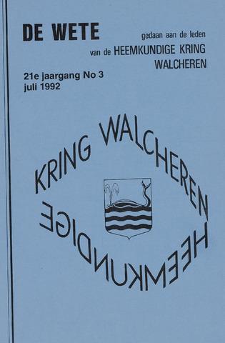 de Wete 1992-07-01