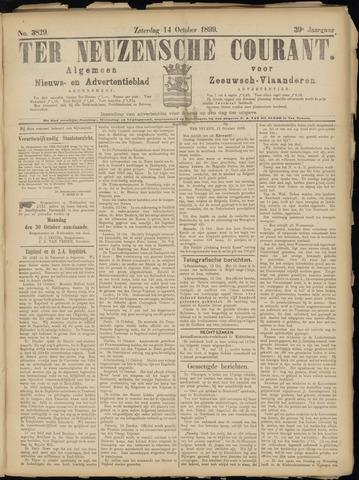 Ter Neuzensche Courant. Algemeen Nieuws- en Advertentieblad voor Zeeuwsch-Vlaanderen / Neuzensche Courant ... (idem) / (Algemeen) nieuws en advertentieblad voor Zeeuwsch-Vlaanderen 1899-10-14