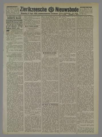 Zierikzeesche Nieuwsbode 1933-09-11
