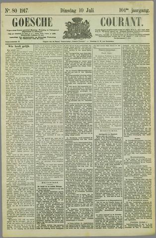 Goessche Courant 1917-07-10