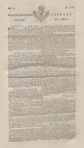 Middelburgsche Courant 1762-02-04