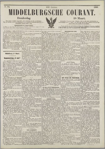 Middelburgsche Courant 1901-03-28
