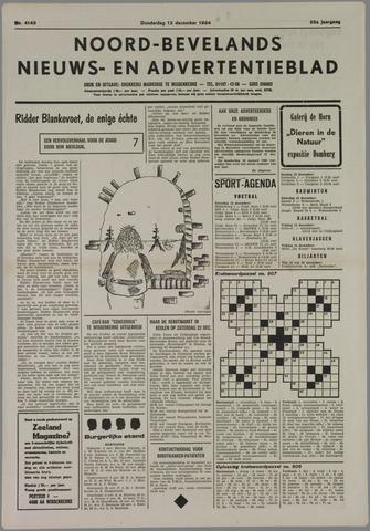 Noord-Bevelands Nieuws- en advertentieblad 1984-12-13