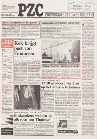 Provinciale Zeeuwse Courant 1989-10-28