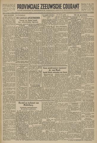 Provinciale Zeeuwse Courant 1946-01-21