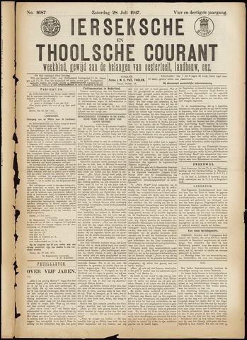 Ierseksche en Thoolsche Courant 1917-07-28