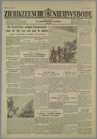 Zierikzeesche Nieuwsbode 1958-10-28