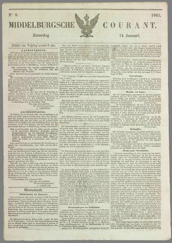 Middelburgsche Courant 1865-01-14