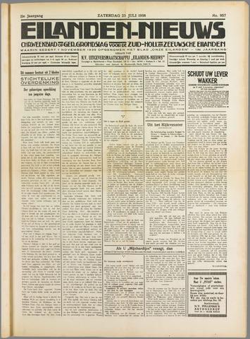 Eilanden-nieuws. Christelijk streekblad op gereformeerde grondslag 1938-07-23