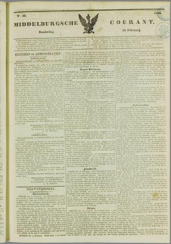 Middelburgsche Courant 1846-02-19