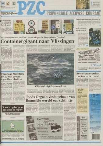 Provinciale Zeeuwse Courant 1999-12-16