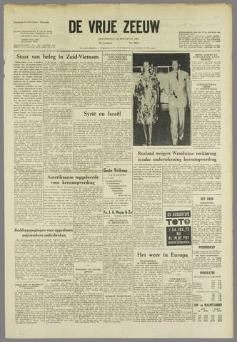 de Vrije Zeeuw 1963-08-22