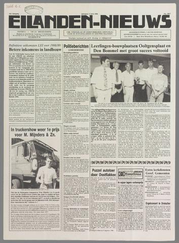Eilanden-nieuws. Christelijk streekblad op gereformeerde grondslag 1990-07-17