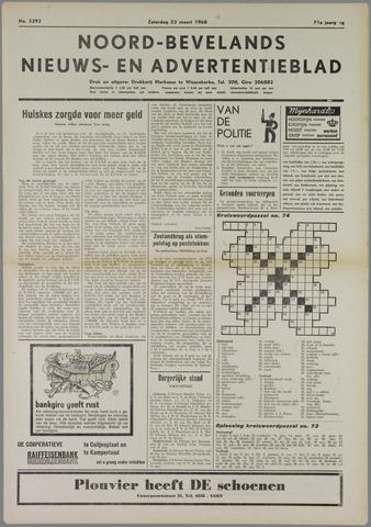 Noord-Bevelands Nieuws- en advertentieblad 1968-03-23