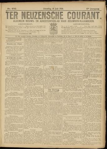 Ter Neuzensche Courant. Algemeen Nieuws- en Advertentieblad voor Zeeuwsch-Vlaanderen / Neuzensche Courant ... (idem) / (Algemeen) nieuws en advertentieblad voor Zeeuwsch-Vlaanderen 1918-07-16