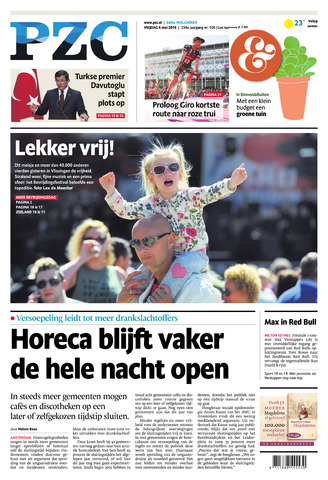 Provinciale Zeeuwse Courant 2016-05-06