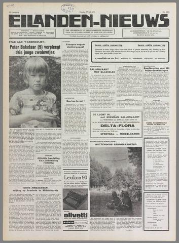 Eilanden-nieuws. Christelijk streekblad op gereformeerde grondslag 1976-07-27