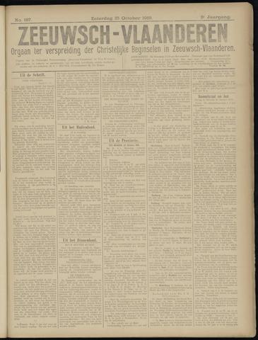 Luctor et Emergo. Antirevolutionair nieuws- en advertentieblad voor Zeeland / Zeeuwsch-Vlaanderen. Orgaan ter verspreiding van de christelijke beginselen in Zeeuwsch-Vlaanderen 1919-10-25