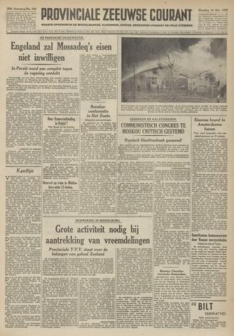 Provinciale Zeeuwse Courant 1952-10-14
